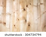 wood  brown plank  texture... | Shutterstock . vector #304734794