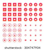 web icons | Shutterstock .eps vector #304747934