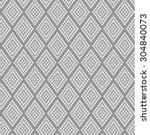 geometric pattern rhombus dots | Shutterstock .eps vector #304840073