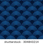 geometric pattern with dotted...   Shutterstock .eps vector #304843214