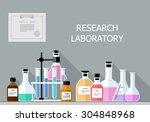 Vector Set   Chemical Research...