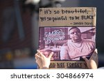 new york city   august 9 2014 ... | Shutterstock . vector #304866974