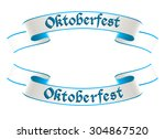 oktoberfest celebration design | Shutterstock .eps vector #304867520