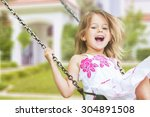 child. | Shutterstock . vector #304891508