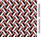 seamless geometric pattern from ... | Shutterstock .eps vector #304909664