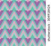 seamless pink green color... | Shutterstock .eps vector #304918424