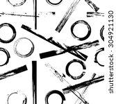 vector seamless pattern. ... | Shutterstock .eps vector #304921130