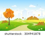 vector illustration of a... | Shutterstock .eps vector #304941878