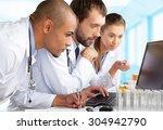 laboratory. | Shutterstock . vector #304942790