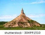chimney rock national historic... | Shutterstock . vector #304991510