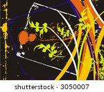 fancy floral grunge background. ...