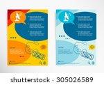 satellite icon. antenna... | Shutterstock .eps vector #305026589
