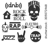 music genres. concept elements | Shutterstock . vector #305072468