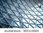 modern skyscraper business... | Shutterstock . vector #305113004