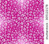 animal skin. pink pattern....   Shutterstock .eps vector #305122178