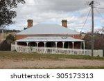 Old Run Down Australian House...