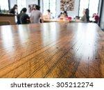 group talking business in... | Shutterstock . vector #305212274
