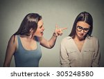 bullying  friendship and people ... | Shutterstock . vector #305248580