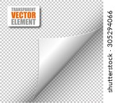 vector corner element | Shutterstock .eps vector #305294066