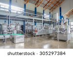 industrial background with the... | Shutterstock . vector #305297384