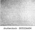 grunge halftone vector... | Shutterstock .eps vector #305326604