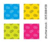 coins icon. cash money sign.... | Shutterstock .eps vector #305388458