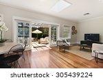 beautiful living room... | Shutterstock . vector #305439224