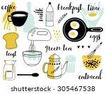 healthy breakfast   doodle...