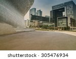 Modern Building Exterior With...