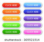 set of 'click here' buttons | Shutterstock .eps vector #305521514
