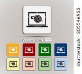 vector illustration of a... | Shutterstock .eps vector #305546933