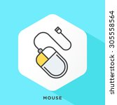 Mouse Icon With Dark Grey...
