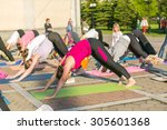 novokuznetsk  kemerovo region ... | Shutterstock . vector #305601368