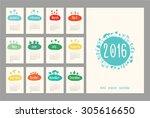 Calendar Cute 2016