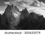 Dramatic Light In Dolomites...