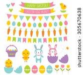 Easter Vector Design Elements