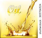 oil | Shutterstock .eps vector #305706524