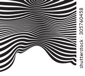 Black And White Mobious Wave...