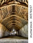 The Tithe Barn Was Built In The ...