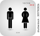 Vector Man And Woman Icons ...