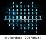 business concept  pixelated... | Shutterstock . vector #305788364