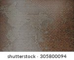 metal corroded texture... | Shutterstock . vector #305800094
