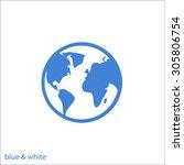 icon world | Shutterstock .eps vector #305806754