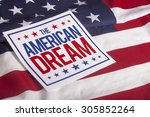 The American Dream Sign On Us...