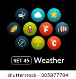 flat icons vector set 45  ...