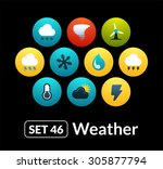 flat icons vector set 46  ...