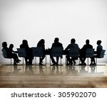 business people conference... | Shutterstock . vector #305902070