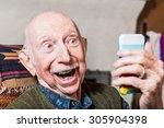 Elderly Gentleman Taking A...