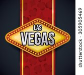 casino game design  vector... | Shutterstock .eps vector #305905469