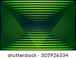Abstract Angular Dark Green...